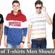 10 Types of T-shirts Men Should Own
