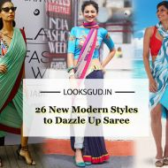 Tired of old Saree Drapes? Try 26 Modern Styles No one told you about