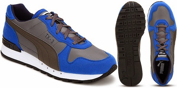 best service 17d94 a9ad3 grey and blue puma shoes