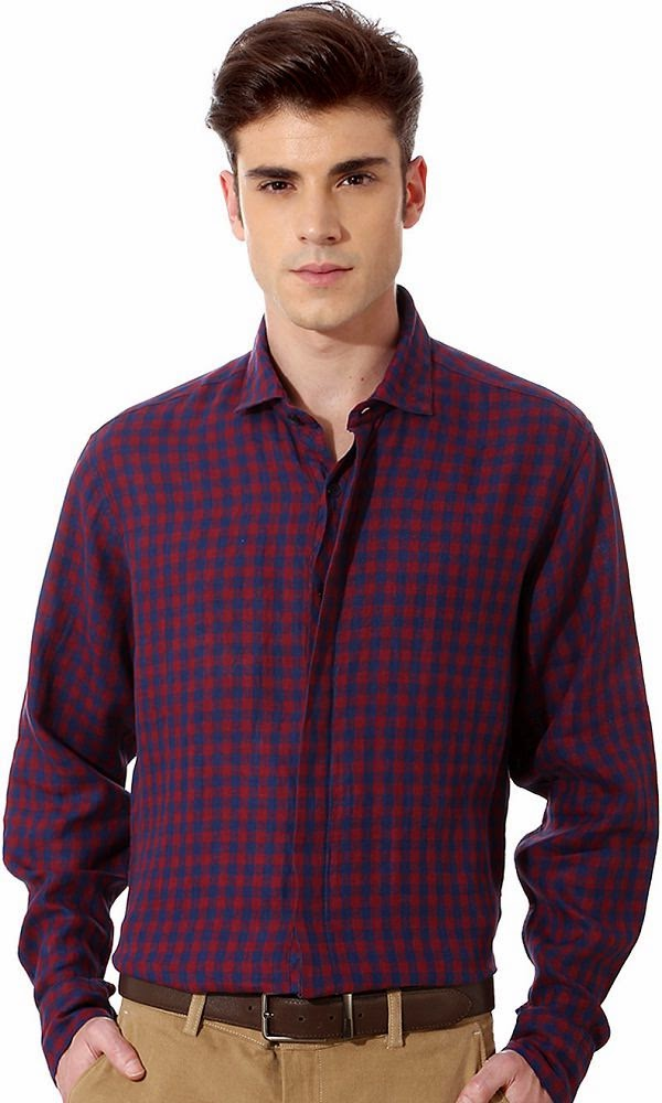 11 Best Formal Shirts for Men to wear in Summer - LooksGud.in Louis Philippe Formal Shirts