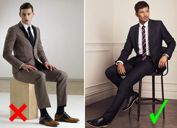 15 Common Mistakes Men make in wearing Suits