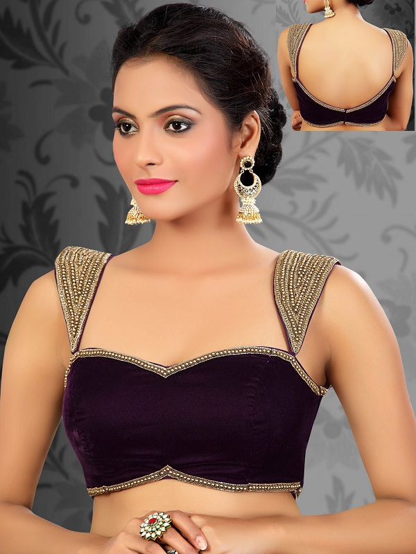 Cool Cream Net Saree With Blouse  SAREE  Women