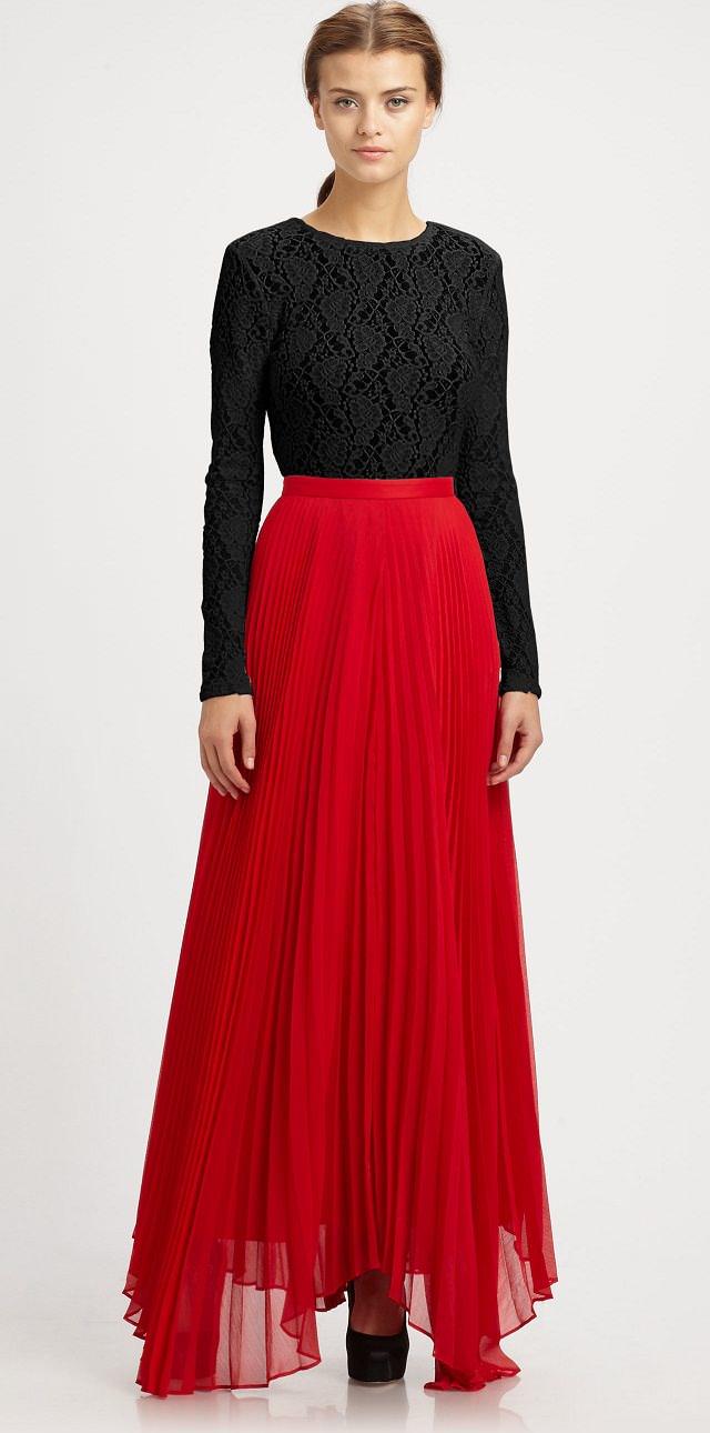 Black Broom Skirt 64