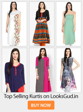 Latest Designer Kurtis With Different Cut Types Looksgud In