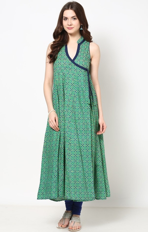 Angrakha Fashion Style Dress Suits in India - ladiespk.net