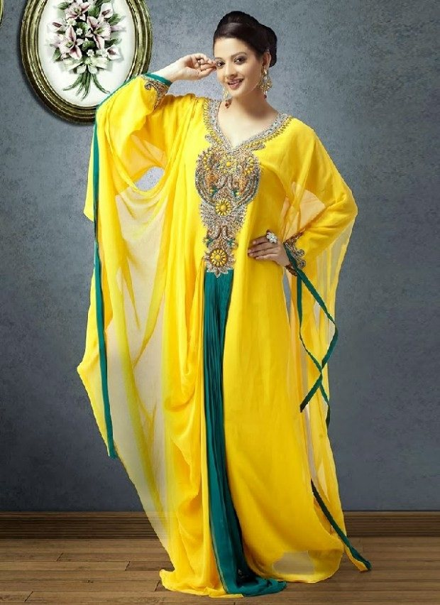 Indian style kaftan dresses