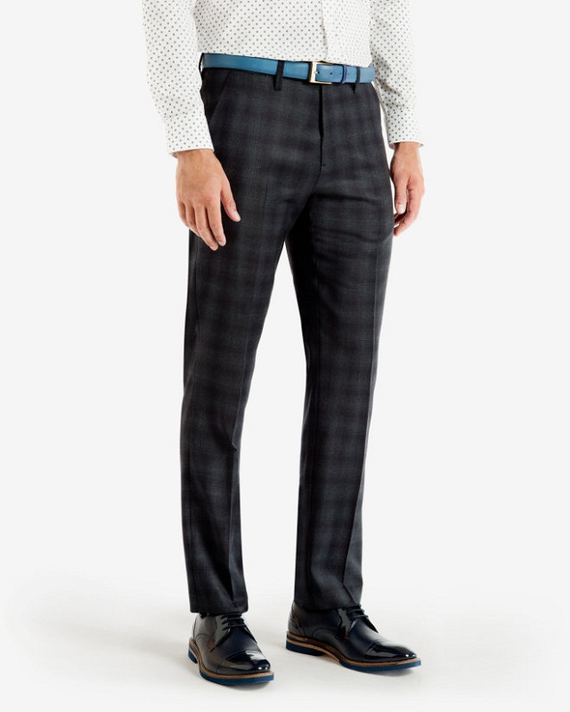 checked trouser with printed shirt, Upgrade your look with printed shirt goes with checked pant
