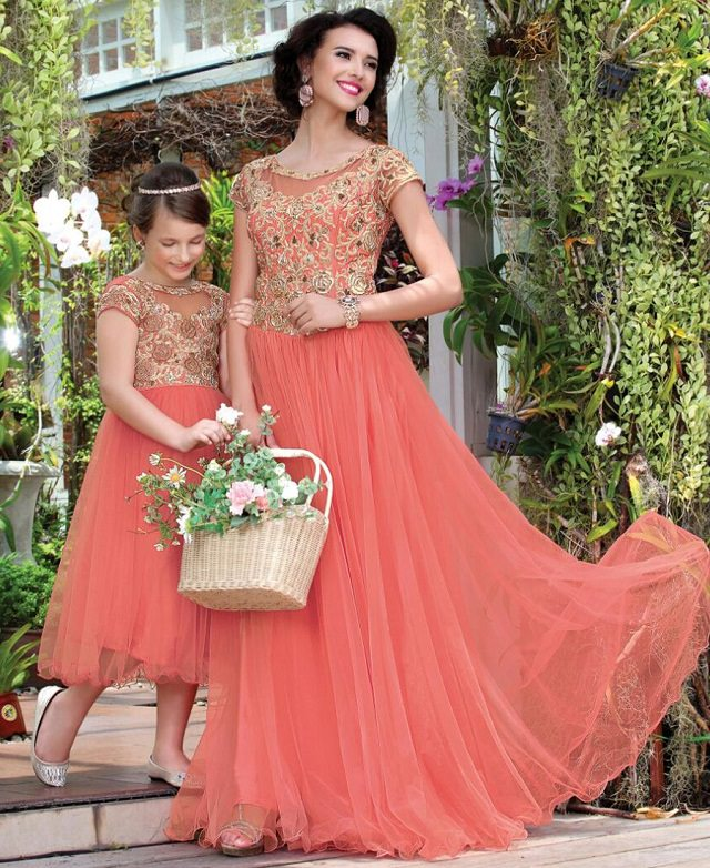 14 Latest Diwali trendy Outfits for your little Girl ...