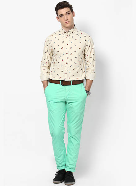 Images of Green Pants For Men - Kianes