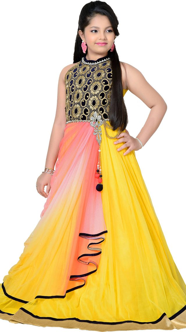 14 Latest Diwali Trendy Outfits For Your Little Girl