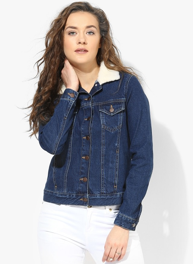 Female Denim Jacket - Coat Nj