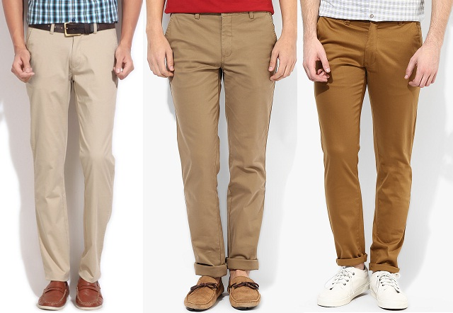 Khaki Colored Pants - Fat Pants