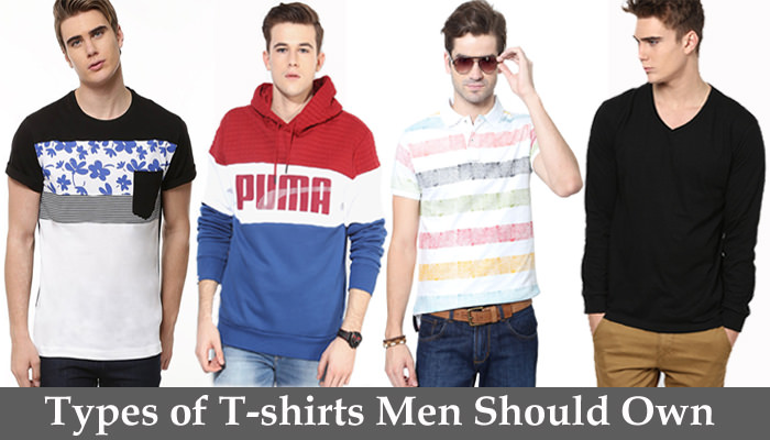 10 Types Of T Shirts Men Should Own