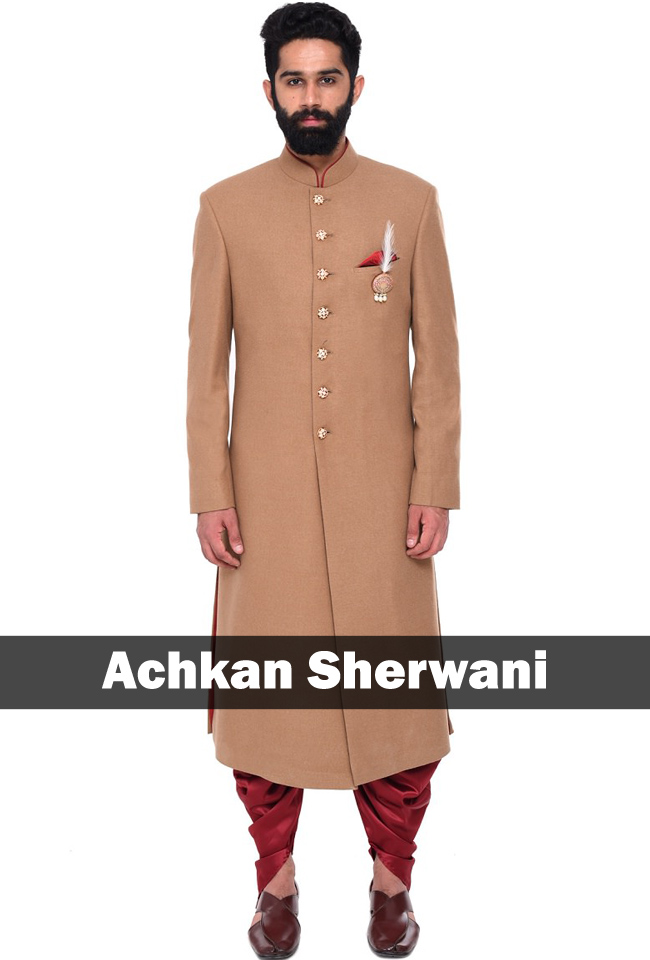 9 Types of Wedding Sherwani every Groom should know ...