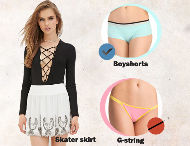 How To Wear Right Type Of Underwear With Different Dresses