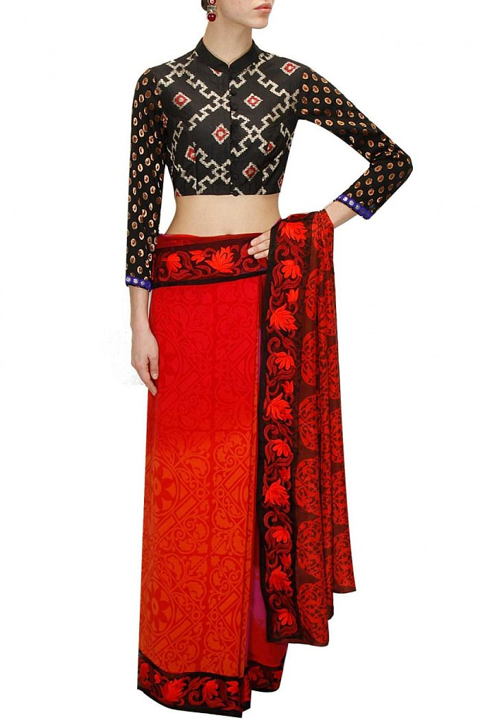 44 Types of Saree Blouses Fashion Curious Women Should ...