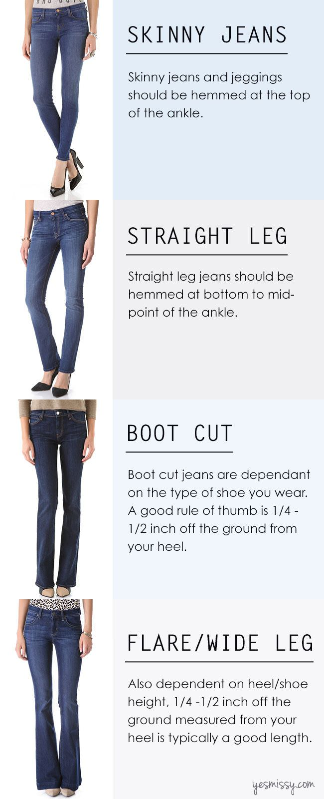 31 Insanely Useful Fashion Infographics For Women Part I