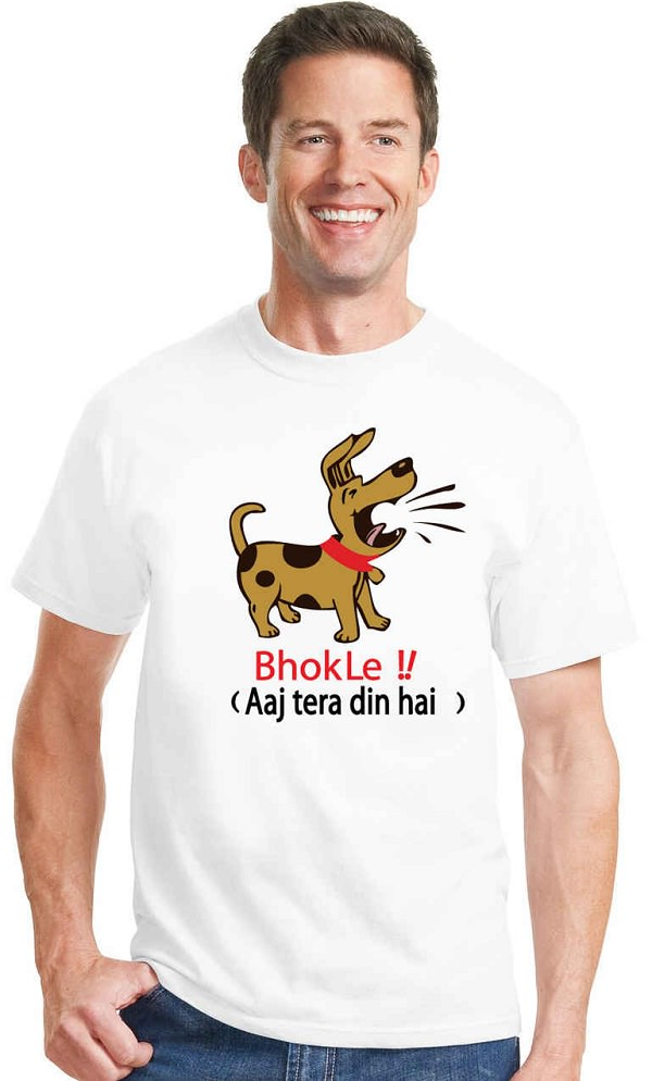31 awesome funny slogan tees for men to buy online for Customized t shirts online india