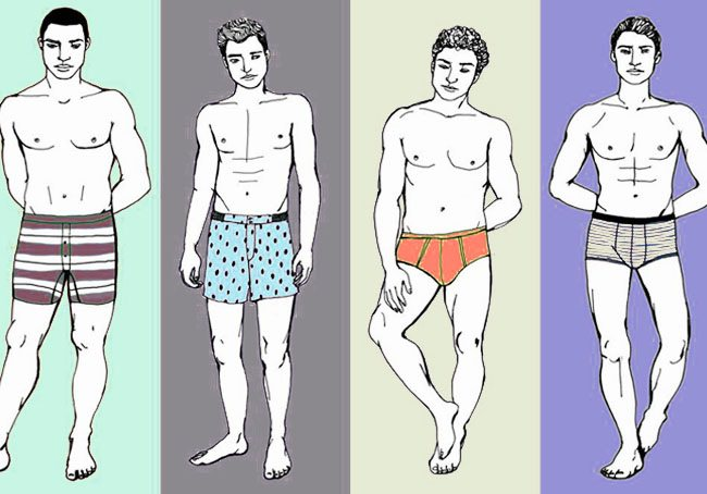 9 Types of Underwear for Men We bet you don't know - LooksGud.in