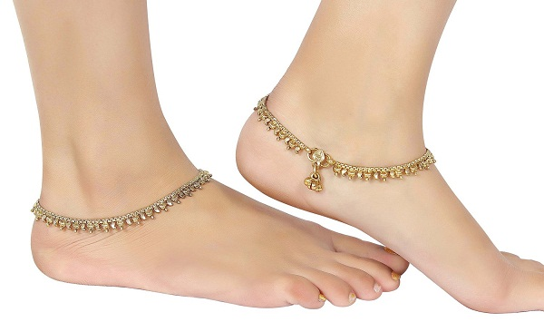 kolusu a traditional anklet of indian state kerala