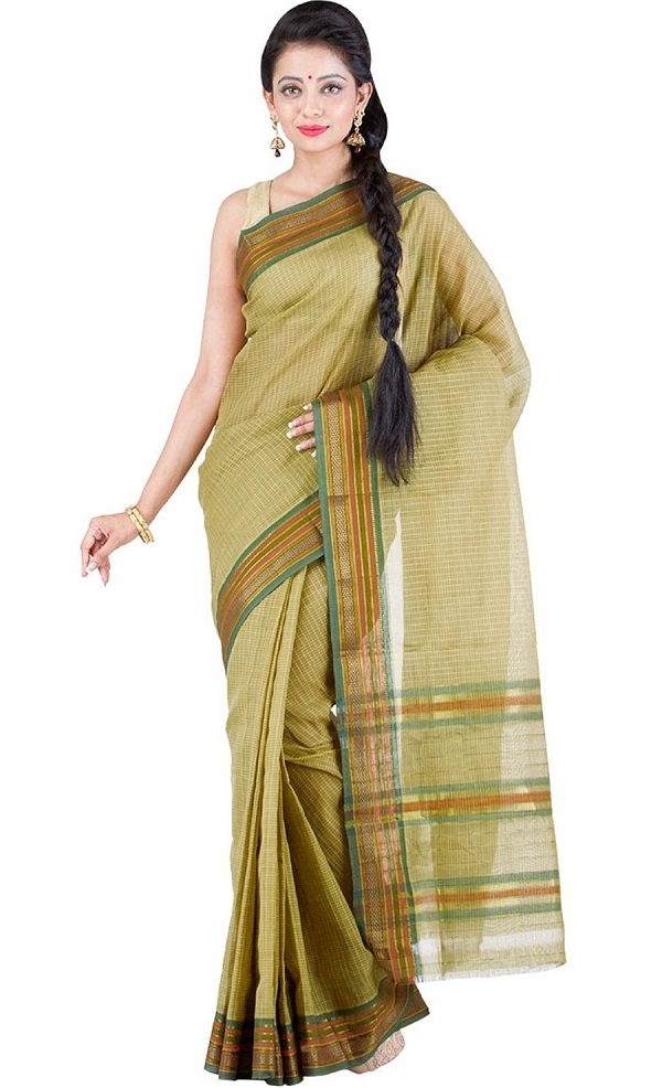 green narayan peth saree a traditional maharashtrian saree