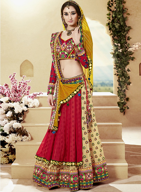 chaniya choli a traditional gujarati outfit for navratri