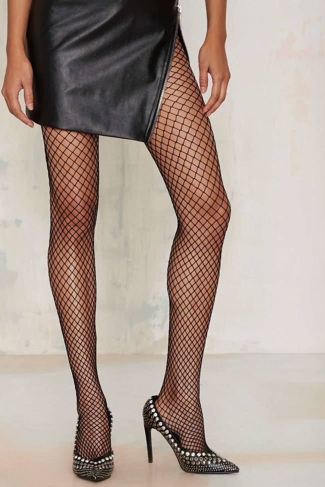 stocking Sexy women pics fishnet wearing