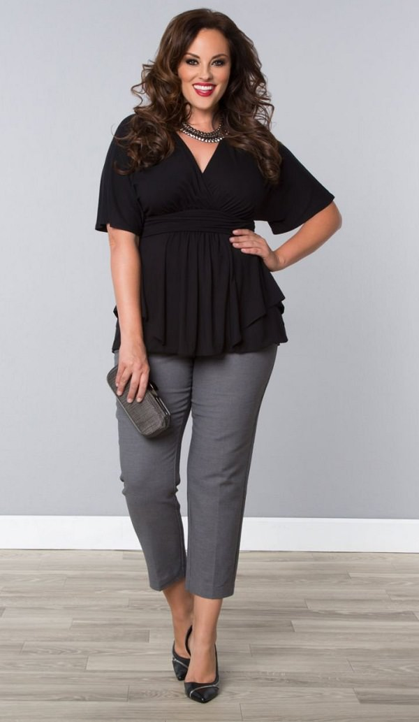 Plus Size Fashion Advice Part 2 Styling Tricks For Plus ...