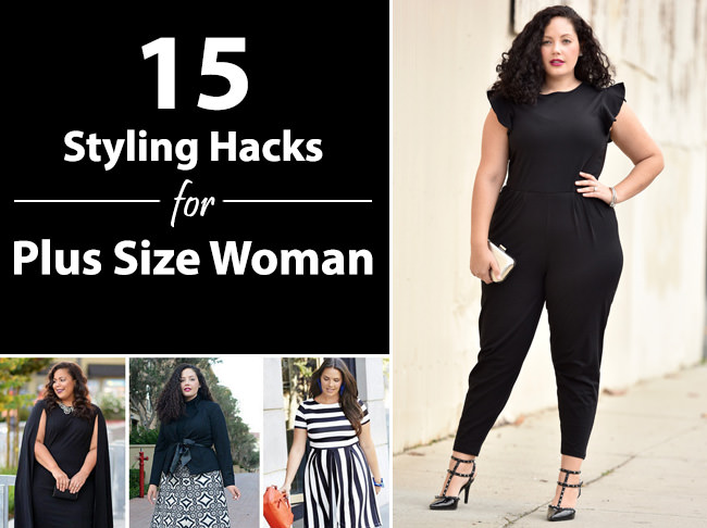 15 Fabulous Fashion Styling Tricks for Plus Size Woman ...
