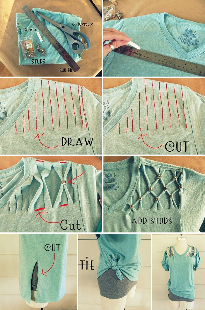 Give your Tee a Lattice Tee Look