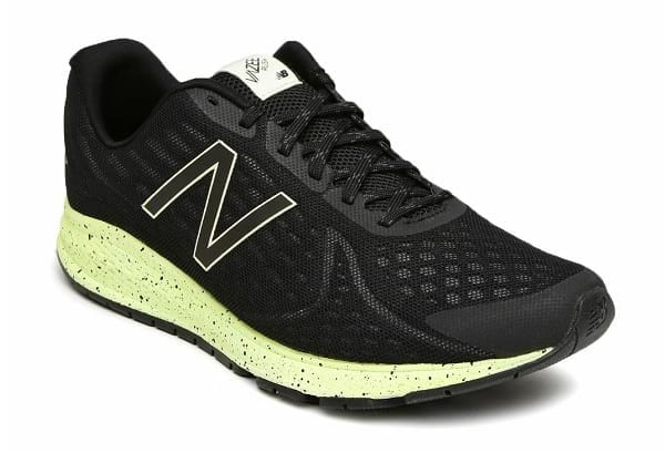 synthetic glow-in-the-dark running shoes