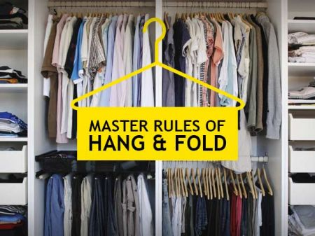 Fashion Etiquette: Master Rules of Hang & Fold