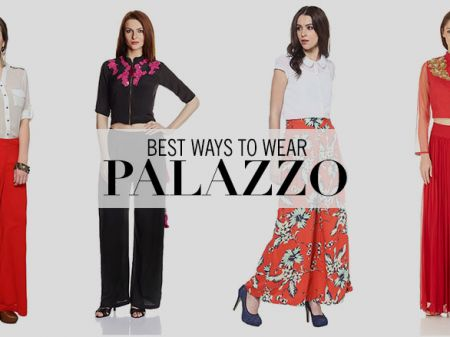 15 Ways To Pull Off Palazzo Trend This Season