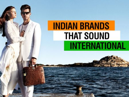 13 Fashion Brands from India that are mostly believed as International