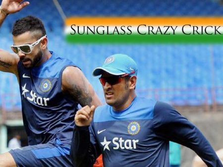 10 Indian Cricketers Crazy About Sunglasses on Ground