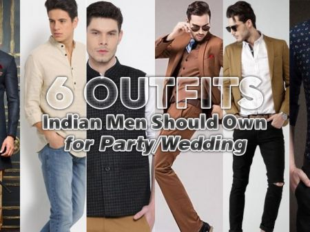 6 Outfits Indian Men Should Own for Party/Wedding