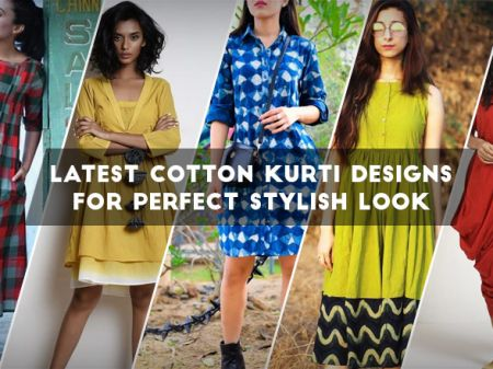 41 Cotton Kurti Designs are Really Cool for Stitching Inspiration