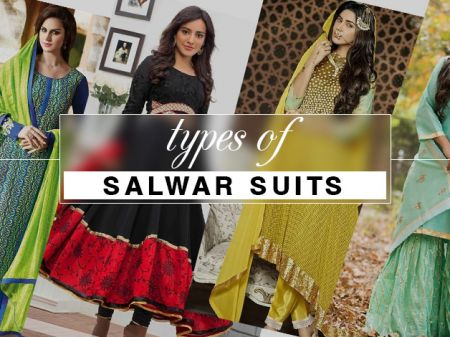 27 Types of Salwar Suits Designs for Serious Ethnic Fashionistas!