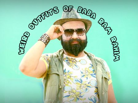 8 Weird Outfits of Baba Ram Rahim No one Dare to Wear