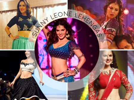 17 Lehengas of Sunny Leone are Bolder than Her