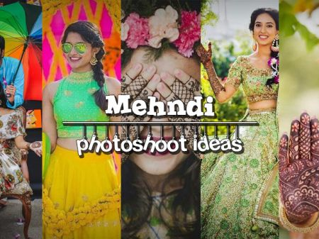 22 Mehendi Photography Ideas You'll Want Your Photographer to Capture!
