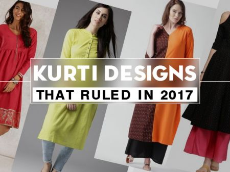 10 Best Kurti Designs that Ruled in 2017