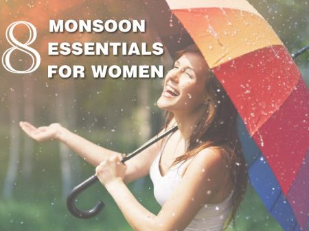 8 Monsoon Essentials That Every Women Should Buy