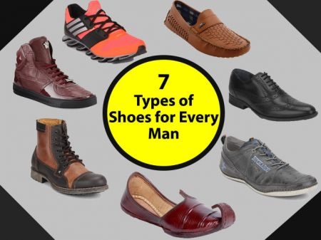 7 Types of Shoes Every Man should have in his wardrobe