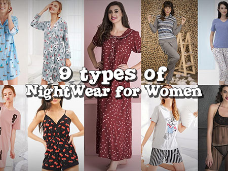 8 Types of Nightwear Every Woman Should Try