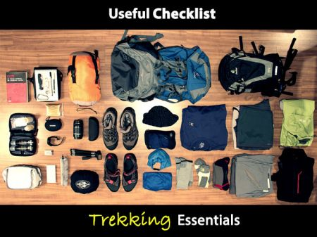 17+ Trekking Essentials to include in Packing list