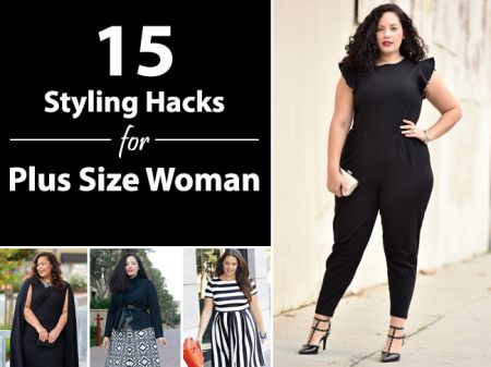 15 Fabulous Fashion Styling Tricks for Plus Size Woman